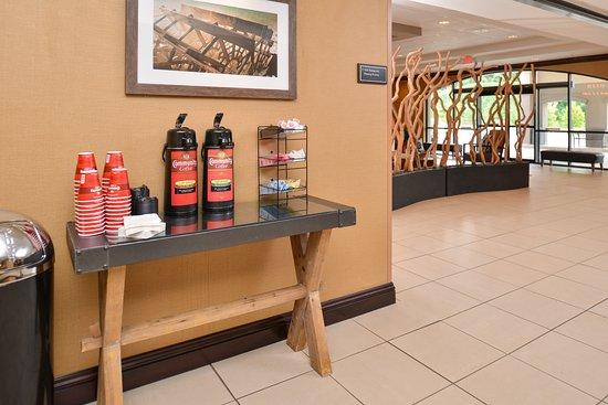 Hotel Vue: Coffee Station