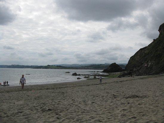 Par, UK: Polkerris Beach, Cornwall