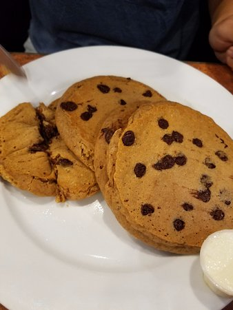 Morristown, NJ: Sweet potato pancakes with chocolate chips