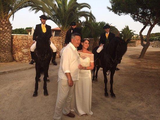 Sant Joan De Binissaida: Perfect wedding at San Joan de Binissaida