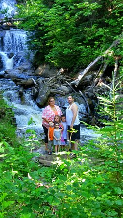 Grand Marais, MI: Perfect day at Sable Falls
