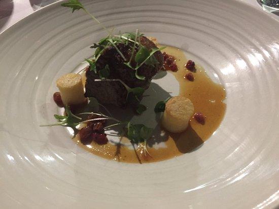 Поколбин, Австралия: Lamb Rump with Redcurrant Jus