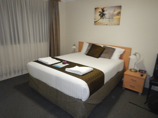 Beaches Serviced Apartments: Quarto principal