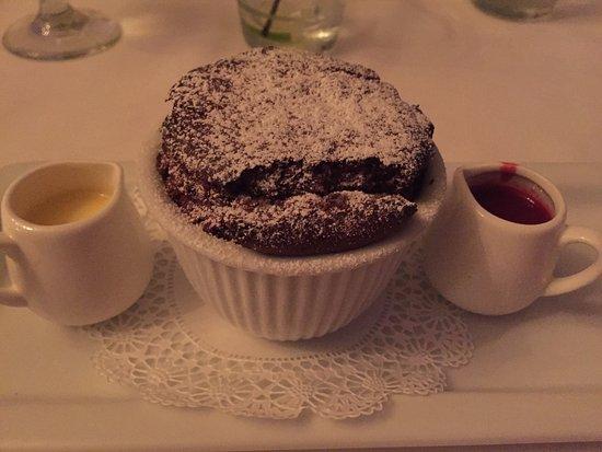 Little River, Carolina Selatan: Chocolate Souffle