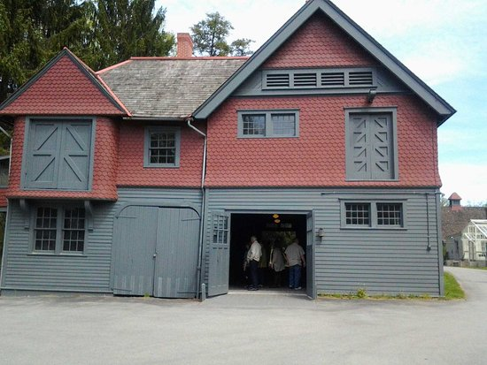 Hyde Park, نيويورك: The Roosevelts barn in Hyde Park, NY