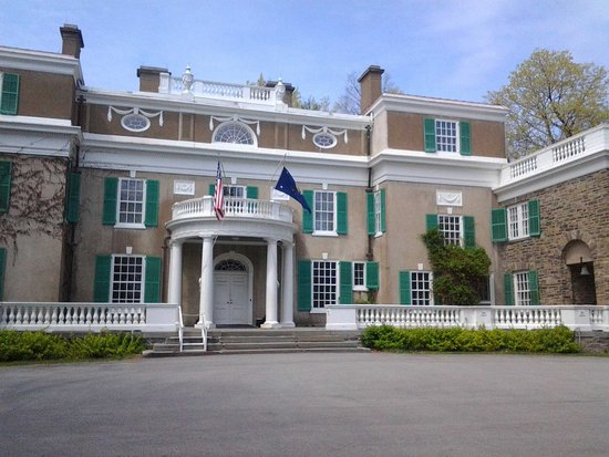 President and Mrs. Roosevelts estate in Hyde Park, NY