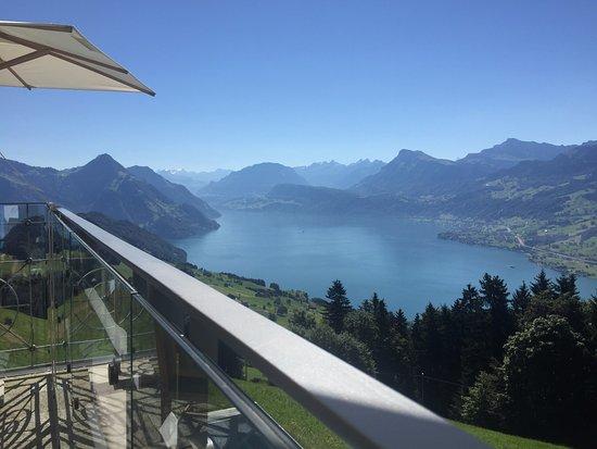 Hotel Villa Honegg: view from the restaurant