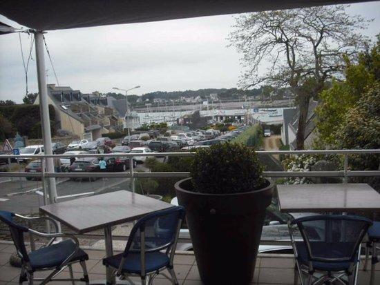 La Trinite-sur-Mer, France: Vue de la terrasse