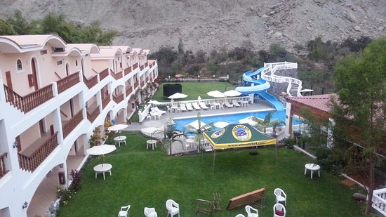 Hotel Lunahuana River Resort: Vista del hotel