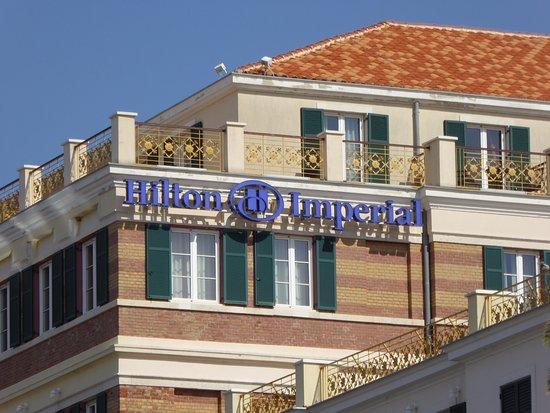 Hilton Imperial Dubrovnik: Vista do hotel