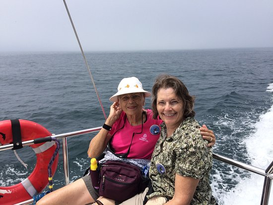 Dana Point, CA: My Mom the adventurer (81 years young)