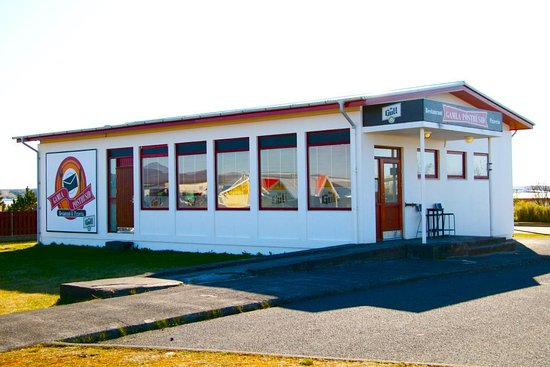 Vogar, Islandia: Gamla Posthusid from the outside