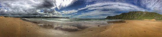 Malin, Ireland: Vue de la plage