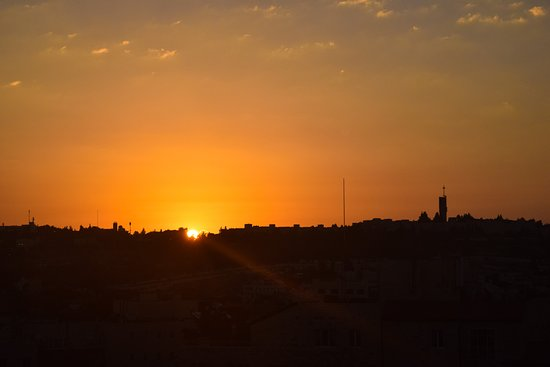 Olive Tree Hotel: Sunrise from 8th floor