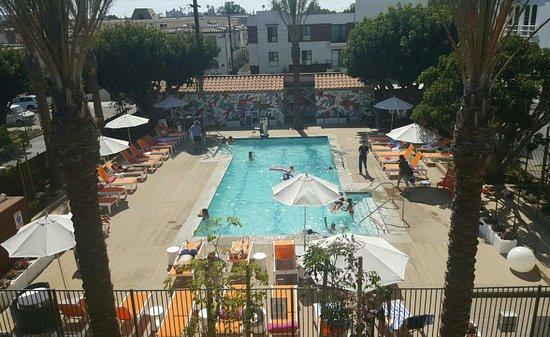 Pool area picture of aloft el segundo los angeles - Salt water swimming pools los angeles ...