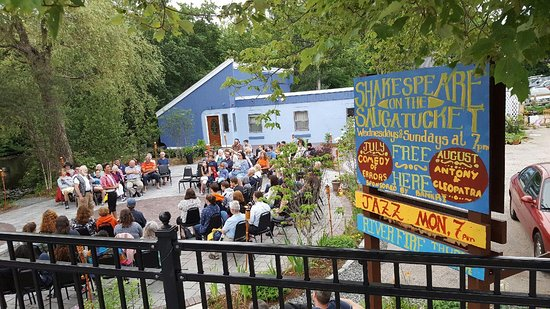 Wakefield, RI: The Charles Errol Exley Jr Performance Patio - Shakespeare on the Saugatucket, 2016