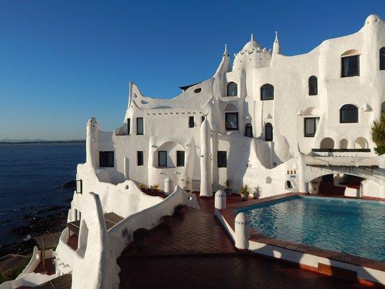 Punta Ballena, Uruguay: Vista do hotel na casapueblo
