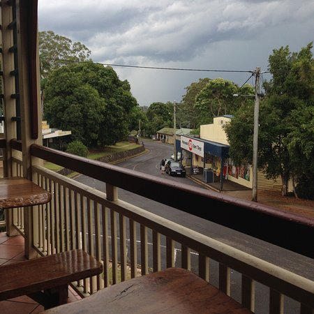 Palmwoods, Avustralya: View from Palmy Pub front deck