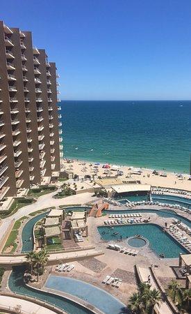 Las Palomas Beach & Golf Resort: Vista desde el noveno piso, edificio Cortéz.
