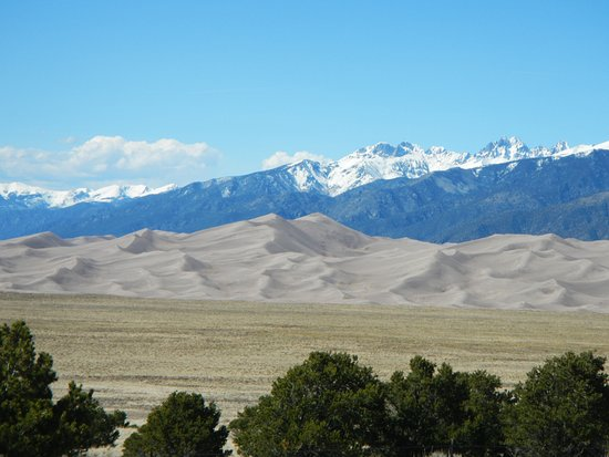 Mosca, CO : Another view from room of the Dunes & Mountain