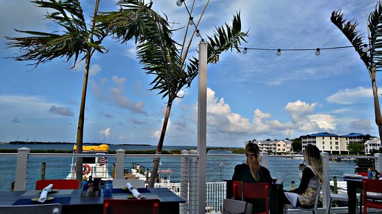 Duck Key, FL: Outside dining