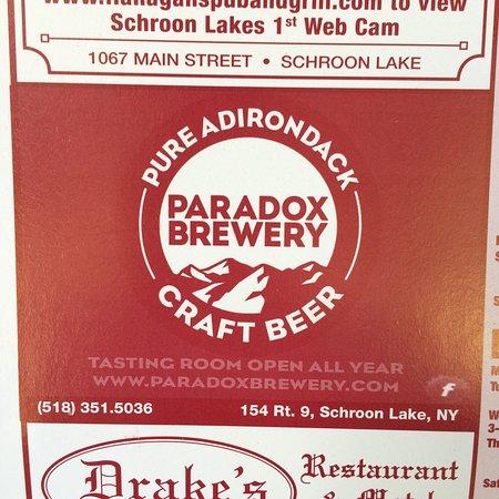 Paradox Brewery: Check 'em out!