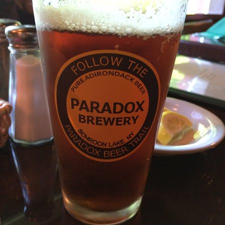 Paradox Brewery: Served locally, but much better off their own taps.