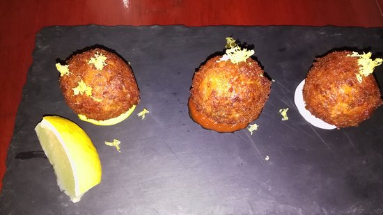Spiddal, Irland: I tried the fish cakes!