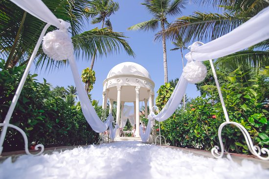My wedding set up at the Elegance Garden Gazebo Picture of