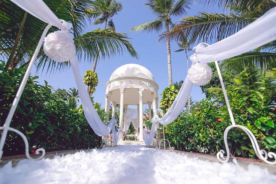 Majestic Elegance Punta Cana My Wedding Set Up At The Garden Gazebo