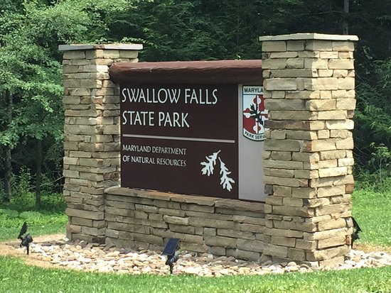 Swallow Falls State Park : Entrance to Park