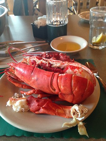 Mount Desert, Мэн: Lobster Dinner