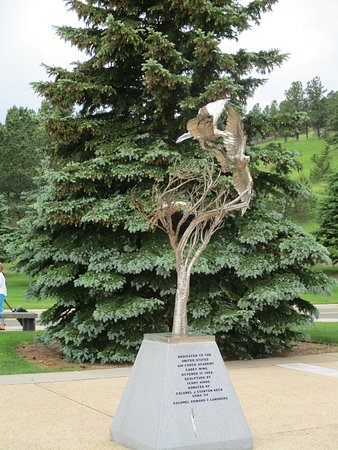 United States Air Force Academy: One of many monuments presented to the ASAF Academy