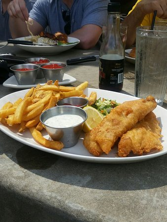 Cranberry Township, PA: Fish and chips