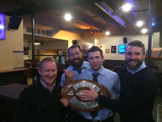Rangiora, Nuova Zelanda: Celebrations w Southbridge Shield