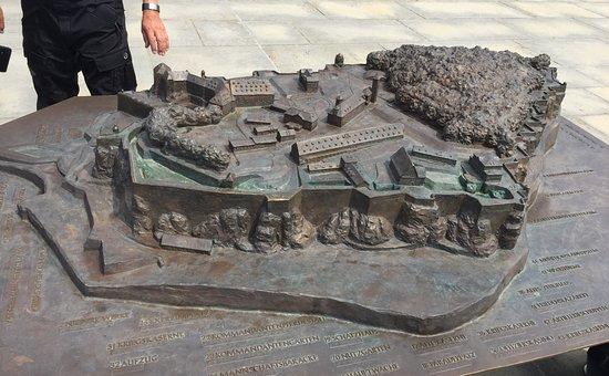 Koenigstein, Alemanha: Model der Festung