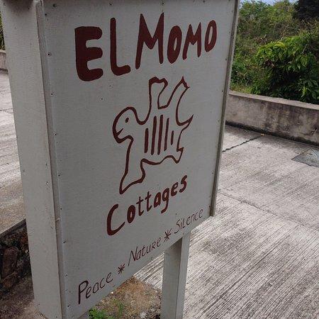 Windwardside, Saba: La pancarte et le logo