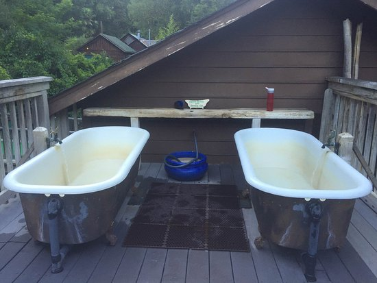 Orr Hot Springs: stargazing tubs