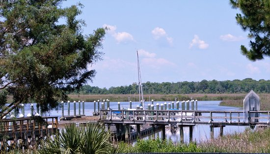 Darien, GA: Another view from deck of Skippers