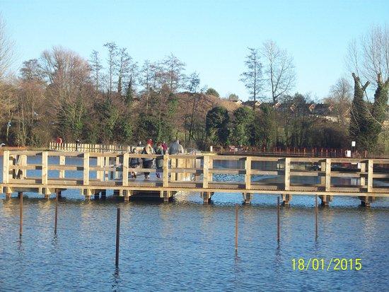 Kettering, UK: bridge walk