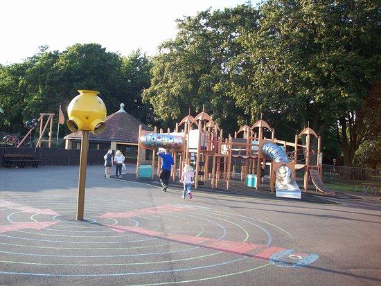 Kettering, UK: playground