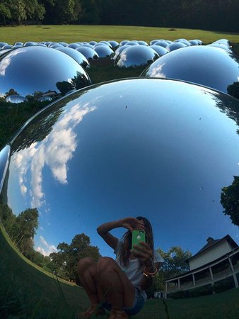 Chesterwood Museum: mirror balls!