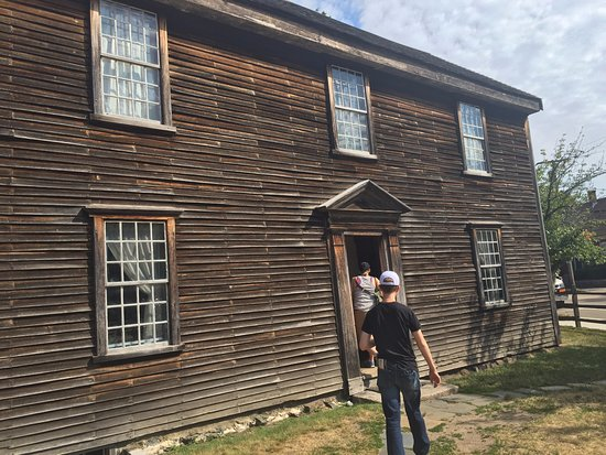 Quincy, Массачусетс: First tour stop - John Adams birthplace