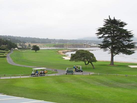 Pebble Beach, CA: #18 Hole