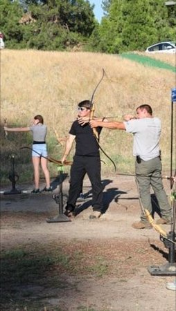 Tenaya Lodge at Yosemite: On Site Archery With Clara