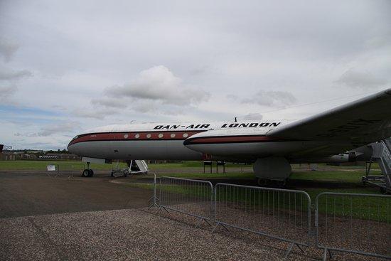 North Berwick, UK: de Havilland Comet 4C