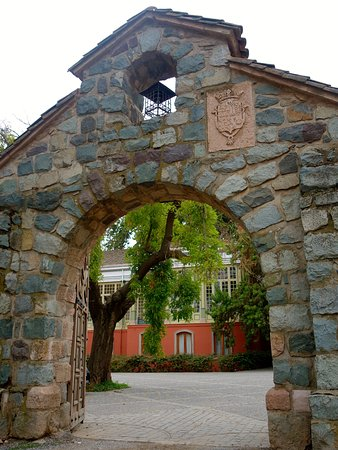 Alto Jahuel, Χιλή: entrance to the courtyard