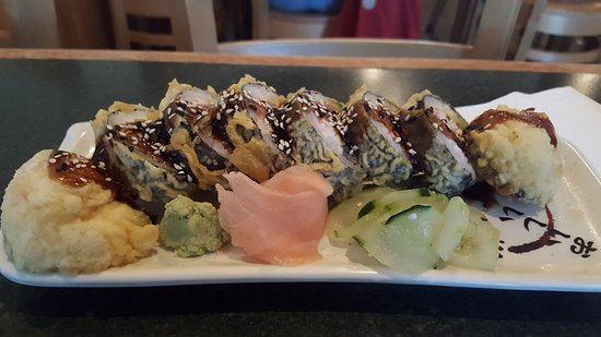 Oishi Japanese Restaurant: dragon roll