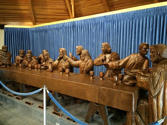 Sioux City, IA: Last Supper Carving