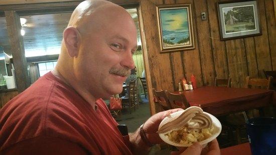อัลเบมาร์ล, นอร์ทแคโรไลนา: My brother's plate of desert